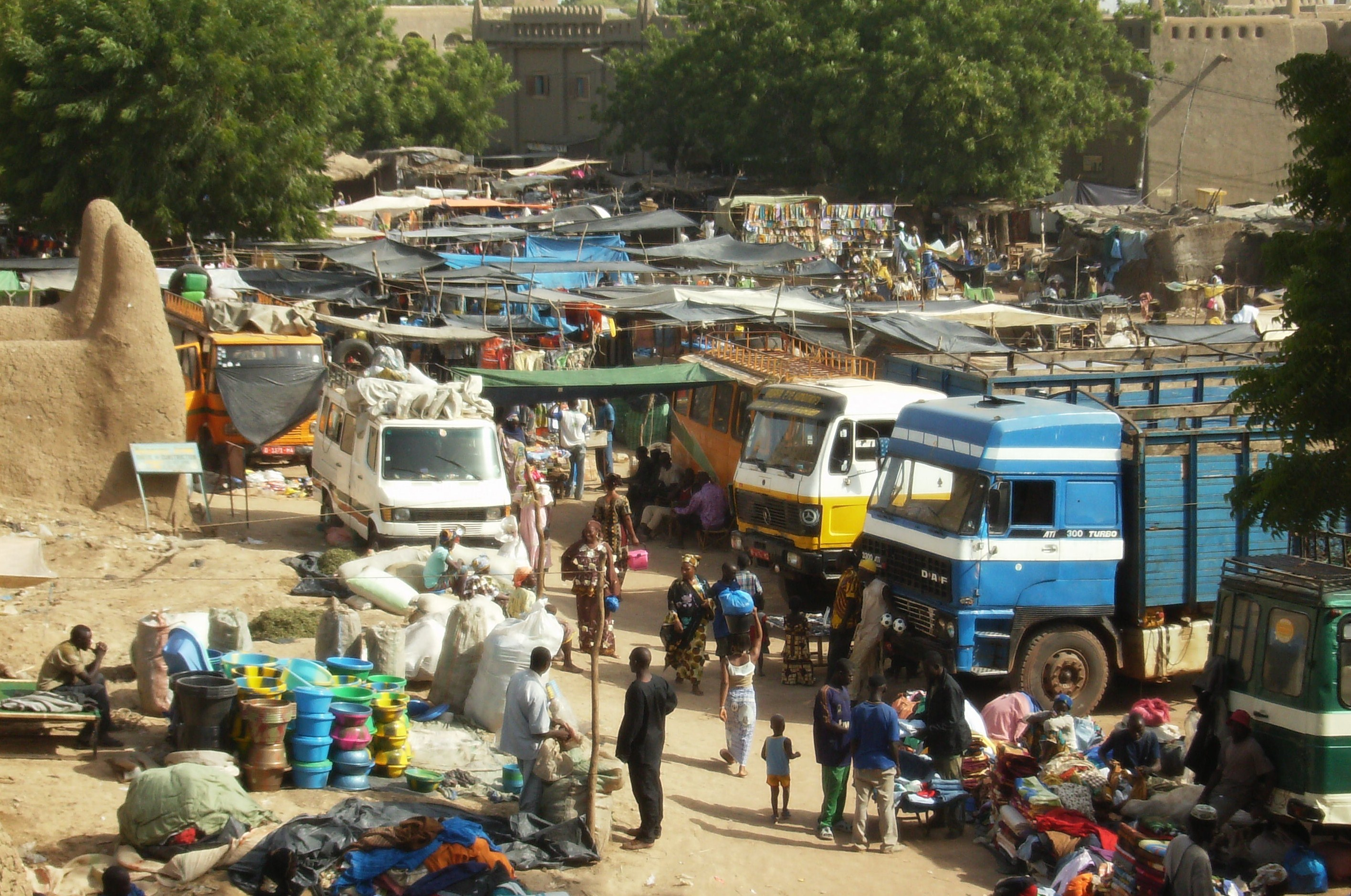 Market Of Djenne