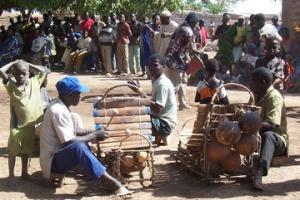 Balafon players